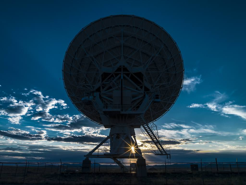 Very Large Array (VLA) at Socorro, New Mexico, USA